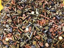 NOS BRAKE SHOE LINING / CLUTCH RIVETS 15 ounces, mixed metals