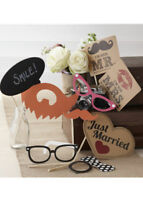 Wedding Party Vintage Photo Booth Kit