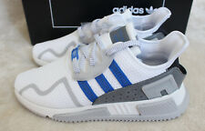 New Adidas EQT Cushion ADV 1991 Europe Exclusive White Blue UK 10.5 11 Free Bag