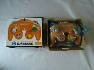 Official Nintendo GameCube Spice Orange Controller GCN GC Boxed