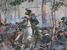 TROIANI COWPENS REVOLUTIONARY WAR TARLETON DANIEL MORGAN SIGNED/#d RARE
