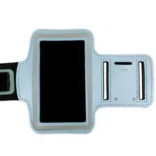 Light Blue Sports Armband Running Gym Exercise Case for Apple iPhone SE 5S 5C 4