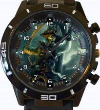 Reloj Pulsera Skull Gothic Esqueleto Pirata Nuevo Deportivo GT Series rápido de Reino Unido Vendedor
