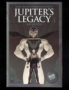 Jupiter's Legacy Requiem #1 (2021) Cassaday Silver Foil Variant Image NM