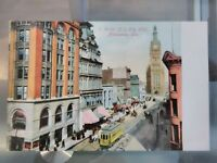 1900s Antique Milwaukee Wisconsin Downtown Postcard Jno t. faber - Germany