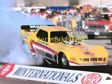"John ""Brute"" Force 1980 ""Wendy's"" Chevy Corvette NITRO Funny Car PHOTO! #(21)"