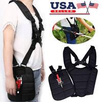 Adjustable Padded Shoulder Harness Strap For STIHL Husqvarna Trimmer Strimmer