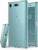 For Xperia XZ1 Compact | Ringke [FUSION] Clear Shockproof Protective Case Cover