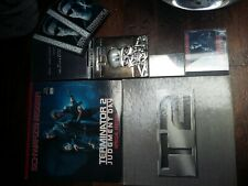 LOT LASERDISC TERMINATOR 2 SPECIAL EDITION DVD ZONE 1 CD AUDIO ET K7 AUDIO
