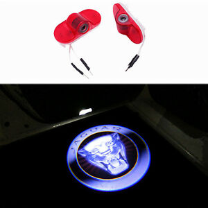 Led Door Light Projector Logo Emblem HD For JAGUAR XJ XJL X351 X TYPE PLATE 54