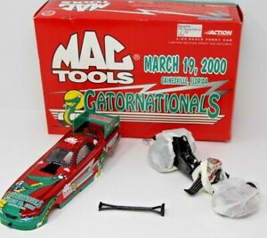 Gatornationals 2000 Ford Mustang Funny Car Action Mac Tools 1/7000 Limited Ed