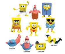 8 SpongeBob SquarePants Patrick Bob Figures Set Lot Figurines Bulk USA Shipper