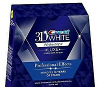 Crest Whitestrips Professional Effects 3D White 20 Strips 10 Pouches NO BOX 2021