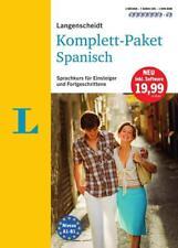 Langenscheidt Komplett-Paket Spanisch - Sprachkurs mit 2 Büchern, 7 Audio-CDs, 1 DVD-ROM, MP3-Download von Olga Balboa Sánchez und María Luz Cámara Hernando (2016, Set mit diversen Artikeln)
