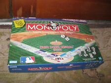 Monopoly Major League Baseball MLB Edition Sports Game Complete