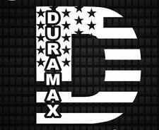 Chevy Decal GMC Duramax Sticker Diesel Truck Flag D 7in