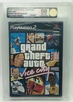 GTA Grand Theft Auto Vice City Playstation 2 PS2 New WATA VGA Graded 90 Gold!!!