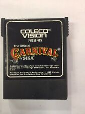coleco vision: THE OFFICIAL CARNIVAL**PRE OWNED CARTRIDGE ONLY**
