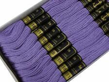 Anchor Algodón Trenzado Colores 8m 225-246 100/% Algodón Bordado Hilo Madejas