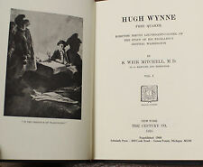 HUGH WYNNE  2 Vols  S Weir Mitchell 1968 REPRINT REVOLUTIONARY WAR AUTOBIOGRAPHY