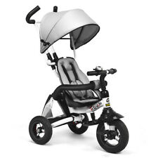 6-In-1 Kids Baby Stroller Tricycle Detachable Learning Toy Bike Outdoor w/ Bag