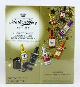 Anthon Berg 64 Pcs Dark Chocolate Liqueurs 2.2 Lbs New 07/2022 Free Shipping