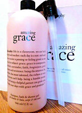 Philosophy AMAZING GRACE SHAMPOO BATH & SHOWER GEL 32 OZ. & PUMP - SEALED
