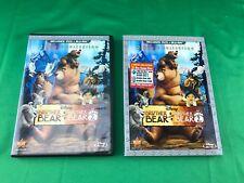 Disney Brother Bear 1 & 2 Blu-Ray + DVD Nice 3-Disc Set, Animated Cartoon Movies