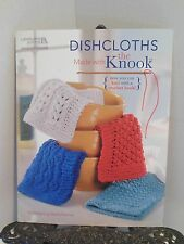 VG Dishcloth PATTERNS to Make with Knook Knitting with a Special Crochet Hook