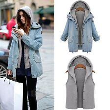 Two in One (2in1) Denim Jacket Medium size FREE POSTAGE