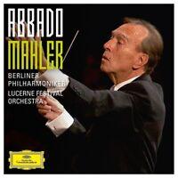 CLAUDIO ABBADO/BP - MAHLER (ABBADO SYMPHONY EDITION) 11 CD NEU MAHLER,GUSTAV