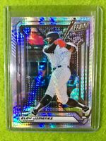 ELOY JIMENEZ ROOKIE CARD REFRACTOR RC /99 SP PRIZM WHITE SOX - 2019 National VIP