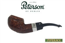 NEW Peterson Pipe Bent Kildare 80s P Lip  Silver Mounted
