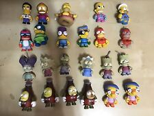Lot of 23 Kidrobot Simpsons 3-Inch Vinyl Figures Glow Nycc Chase Zombie Kaiju