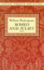 Romeo and Juliet (Dover Thrift Editions) William Shakespeare Paperback
