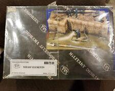 Verlinden 54mm 1/35 WHARF ELEMENTS in SEALED BOX WWII MDA #35202