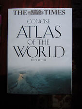 "Concise Atlas of the World. ""THE TIMES"" HARDBACK, SLIP CASE.9th EDITION"