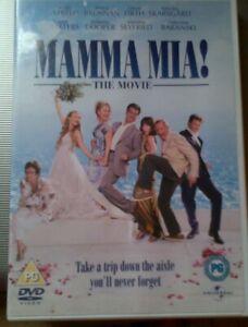Mamma Mia The Movie DVD Pierce Brosnan, Meryll Streep