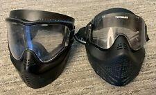 New ListingTwo (2) Paintball Masks - Black - Tippmann Dye Empire Jt Spyder