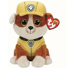 Ty Beanie Babies 41209 Paw Patrol Rubble the Bulldog Dog