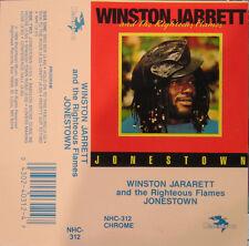 Winston Jarret & The Righteous Flames - Jonestown CASSETE TAPE - NEW - Reggae