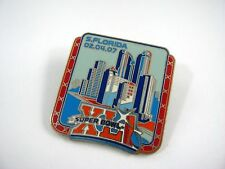 Collectible Pin: Super Bowl Xlii 2007 South Florida Skyline Design Nfl