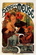 'Birra della Mosa quadro - Stampa d''arte su tela telaio in legno'
