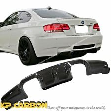 For 2008-2013 BMW E92 E93 Convertible Coupe Carbon Fiber V Look M3 Rear Diffuser