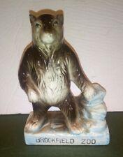 Vintage Brookfield Zoo Souvenir Ceramic Bear Figure Grizzly Brown Polar Rare