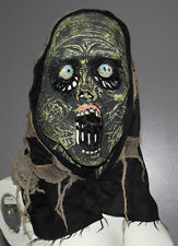 Halloween Hooded Mask Zombie Monster Disguise Eyeballs Screamer Face Scary Adult