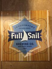 "Full Sail Beer Brewing Hood River Oregon Metal Tin Sign 17.5""x17.5"" Brand New"
