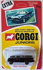 CORGI Juniors Batman BATMOBILE Diecast Model Car In Repro 1002 Blister Pack Card