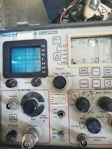 Motorola R-2210A  Communications Service Monitor  working