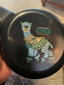 Infinite Discs Limited Edition I-Blend Alpaca Black. New 175G
